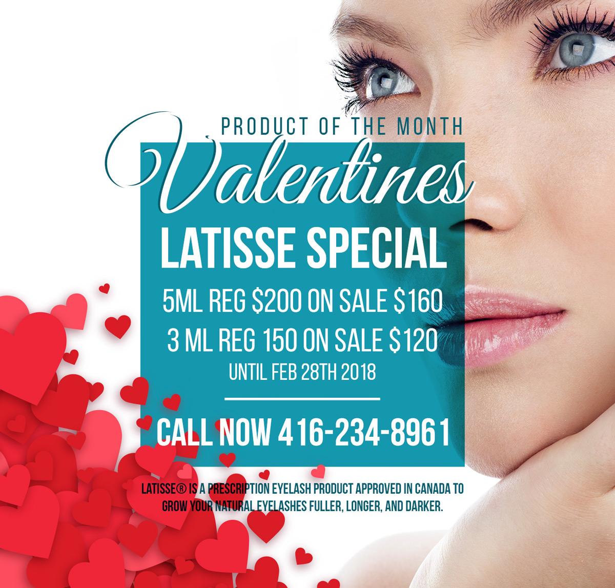 Valentines Latisse Special